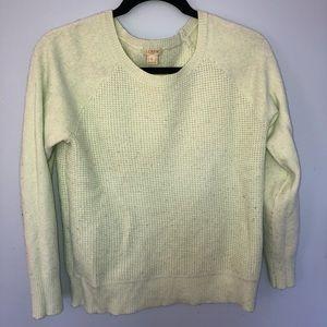 J. Crew waffle sweater